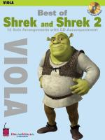 Best Of Shrek And Shrek 2 Viola Sheet Music