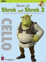 Best Of Shrek And Shrek 2 Cello Sheet Music