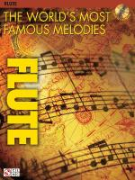 The World's Most Famous Melodies Flute Play-Along Book/CD Pack Sheet Music