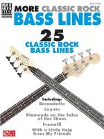 More Classic Rock Bass Lines Sheet Music