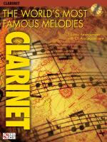 The World's Most Famous Melodies Clarinet Play-Along Book/CD Pack Sheet Music