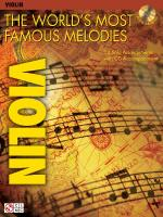 The World's Most Famous Melodies Violin Play-Along Book/CD Pack Sheet Music