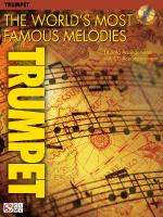 The World's Most Famous Melodies Trumpet Play-Along Book/CD Pack Sheet Music