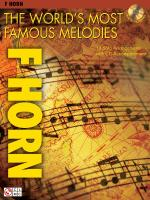The World's Most Famous Melodies French Horn Play-Along Book/CD Pack Sheet Music