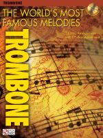 The World's Most Famous Melodies Trombone Play-Along Book/CD Pack Sheet Music