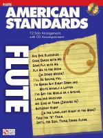 American Standards Flute Play-Along Pack Sheet Music