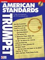 American Standards Trumpet Play-Along Pack Sheet Music
