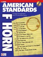 American Standards French Horn Play-Along Pack Sheet Music