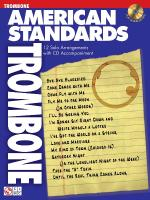 American Standards Trombone Play-Along Pack Sheet Music
