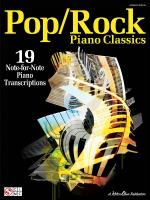 Pop/Rock Piano Classics 19 Note-For-Note Piano Transcriptions Sheet Music