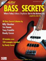 Bass Secrets Where Today's Bass Stylists Get To The Bottom Line Sheet Music