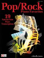 Pop/Rock Piano Favorites Sheet Music