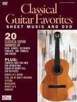 Classical Guitar Favorites Sheet Music And DVD Sheet Music