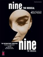 Nine - 2003 Edition Vocal Selections Sheet Music