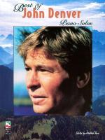 The Best Of John Denver Piano Solo Sheet Music