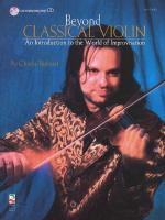 Beyond Classical Violin An Introduction To The World Of Improvisation Sheet Music