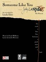 Someone Like You From Jekyll & Hyde Sheet Music Sheet Music