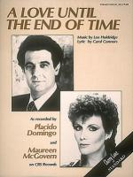 Love Until The End Of Time Sheet Music Sheet Music
