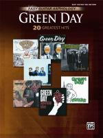 Green Day: Easy Guitar Anthology (20 Greatest Hits) - Book Sheet Music