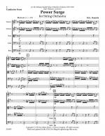 Power Surge For String Orchestra - Score Sheet Music