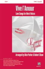 Vive l'Amour (Love Songs for Men's Voices) - Book Sheet Music