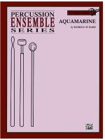 Aquamarine - Part(s) Sheet Music