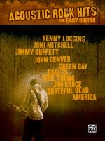 Acoustic Rock Hits for Easy Guitar - Book Sheet Music
