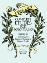 Complete Etudes For Solo Piano, Series II - Book Sheet Music