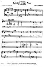 King Of Glory Now Sheet Music Sheet Music