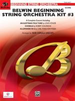 Belwin Beginning String Orchestra Kit #3 - Conductor Score Sheet Music