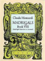 Madrigals - Book VIII Sheet Music