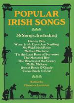Popular Irish Songs - Book Sheet Music