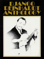 Django Reinhardt Anthology Transcribed And Edited By Mike Peters Sheet Music