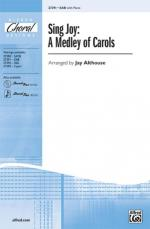 Sing Joy: A Medley of Carols Sheet Music - Choral Octavo Sheet Music