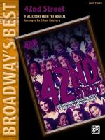 42nd Street (Broadway's Best) (8 Selections from the Musical) - Book Sheet Music