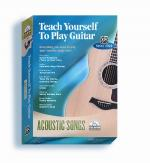 Alfred's Teach Yourself to Play Guitar: Acoustic Songs (Everything You Need to Play Your Favorite So Sheet Music