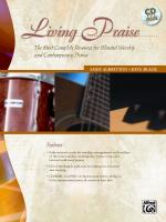 Living Praise (A Complete Resource for Blended Worship and Contemporary Praise) - Book, CD-ROM & CD Sheet Music