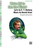 We're Off to See the Wizard - Sheet Music Sheet Music