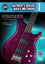 Alfred's Basic Bass Method, Book 1 (The Most Popular Method for Learning How to Play) - DVD Sheet Music