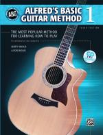 Alfred's Basic Guitar Method, Book 1 (The Most Popular Method for Learning How to Play) - Book & DVD Sheet Music