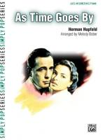 As Time Goes By - Sheet Music Sheet Music