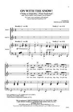 On with the Snow! (A Medley) Sheet Music (Featuring: Sleigh Ride / Winter Wonderland / Let It Snow!  Sheet Music