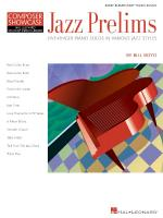 Jazz Prelims Five-Finger Piano Solos In Various Jazz Styles Hlspl Composer Showcase Sheet Music