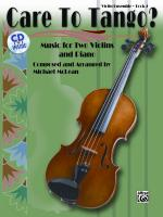 Care to Tango? Book 2 - Book & CD Sheet Music