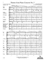Themes from Piano Concerto No. 2 - Conductor Score Sheet Music