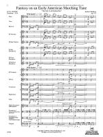 Fantasy on an Early American Marching Tune - Conductor Score Sheet Music