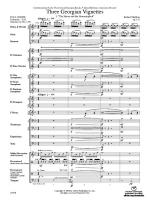 Three Georgian Vignettes - Conductor Score Sheet Music