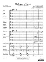 The Legacy of Heroes - Conductor Score Sheet Music