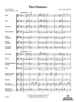 Paso Flamenco - Conductor Score Sheet Music