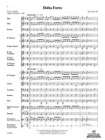 Delta Force - Conductor Score Sheet Music